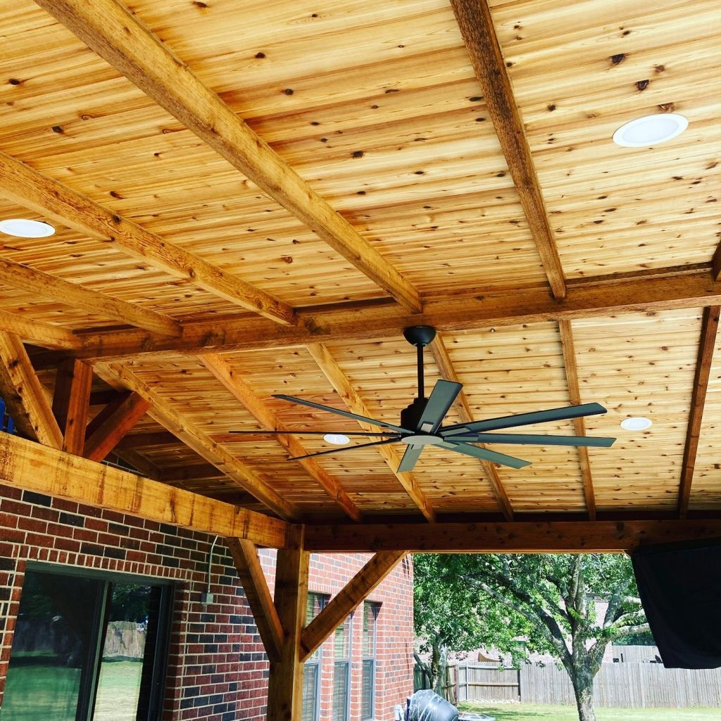 Kyle TX Covered Patio