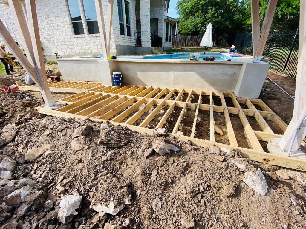 Pool Deck Builder Kyle TX